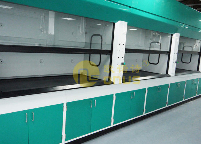 Standard Size Epoxy Resin Laboratory Countertops For Mini Size Fume Hood