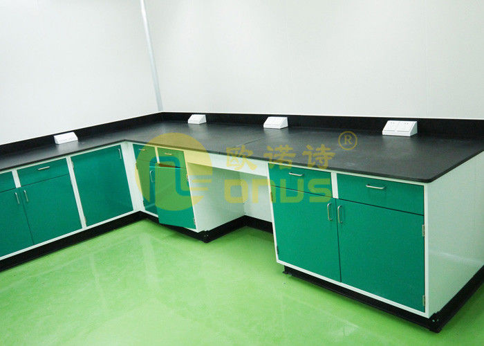 Resist strong alkalies laboratory work benches for pharmaceutical company