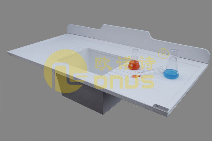 1.5 Meter epoxy undermount sink for university laboratory workbench