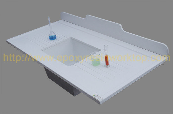 12mm Monolithic corner countertop wiht  matte surface for pharma companies